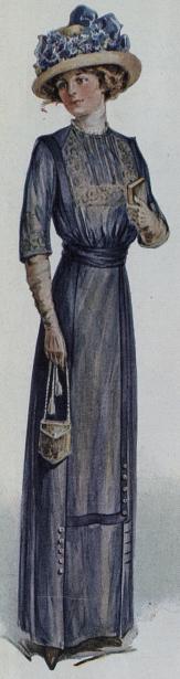 1912 Satin Dress