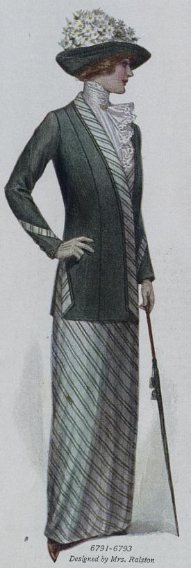 suit with matching shirt and skirt
