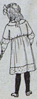 girl's dress-back view