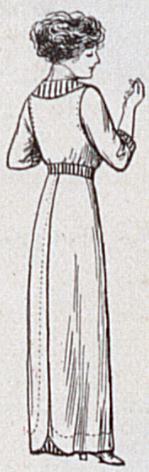 sailor dress-back view