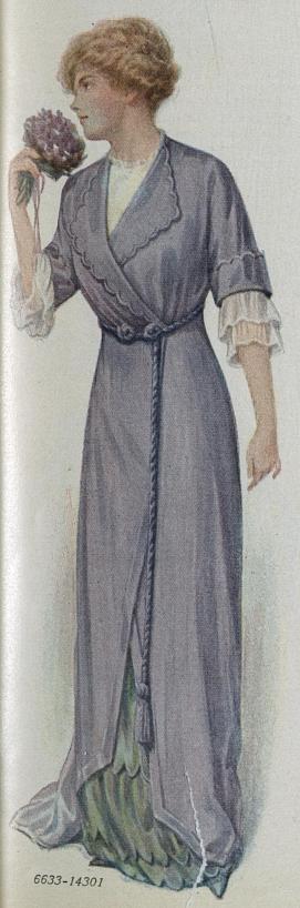 1912 house dress