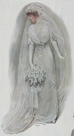 1912 bridal gown