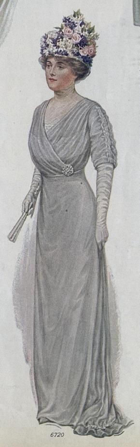 1912 Mother of the Bride Dress