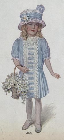Hundred year old flower girl dress