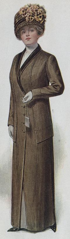 1912.woman's suit