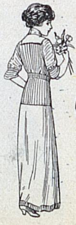 1912 dress back view