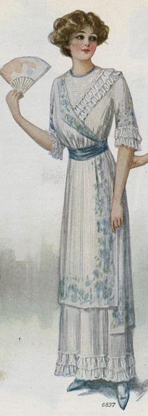 picture of hundred year old dress