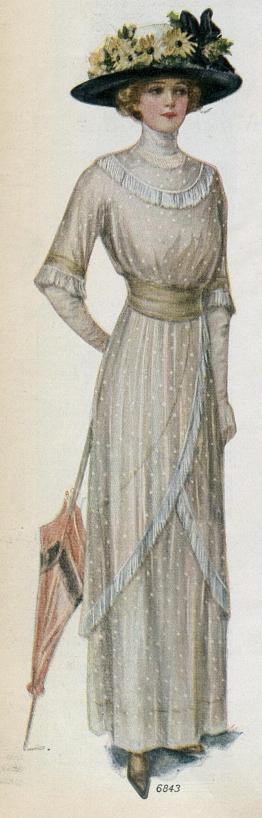 dress from a hundred years ago