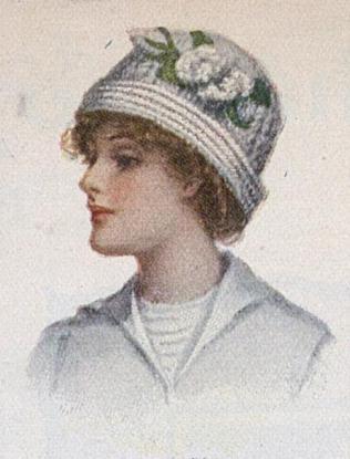 1912 knit hat