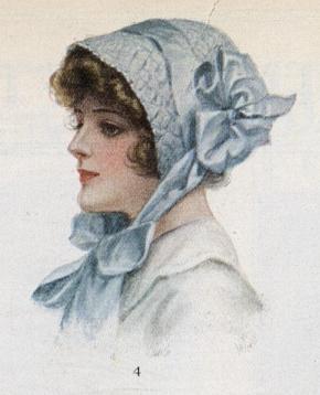 1912 crocheted cap
