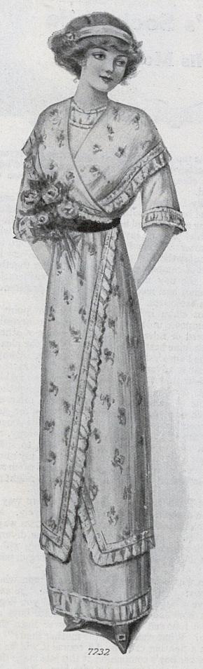 1912 evening frock