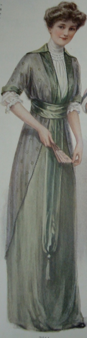 hundred year old green dress