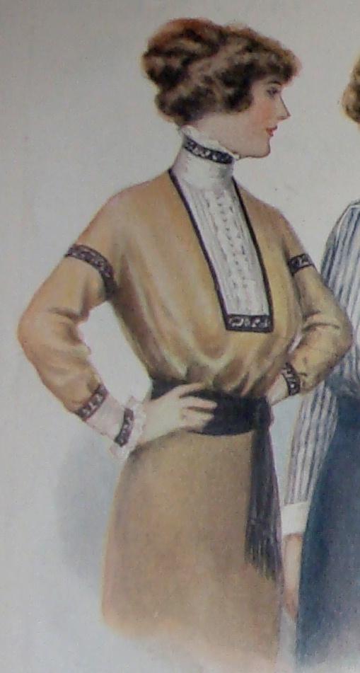 1912 shirtwaist