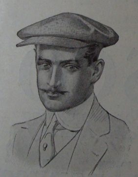 1912 man's cap