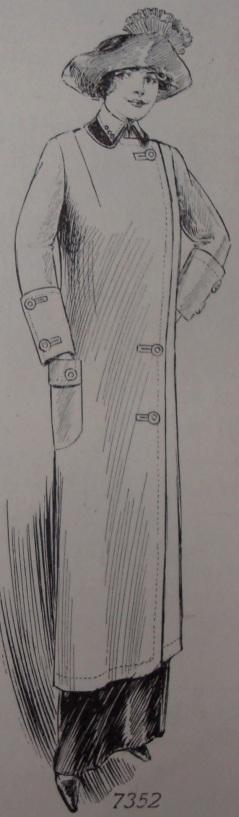 1912 Woman's Overcoat