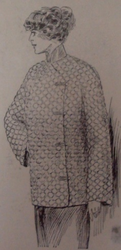 1912 Quited Silk Jacket