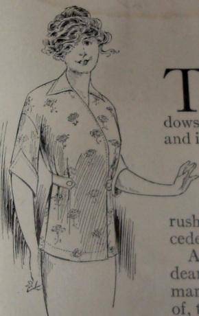 1912 Kimono-style blouse