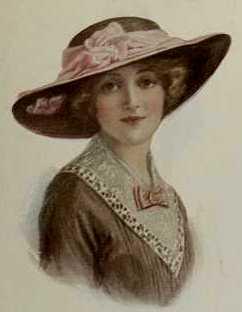 1913 Wide-brimmed hat