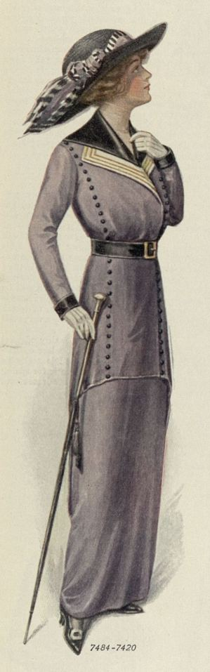 1913 walking suit