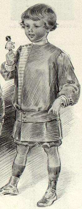 1913 boy's clothes