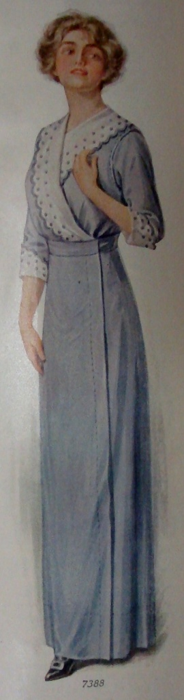 1913 lavender dress