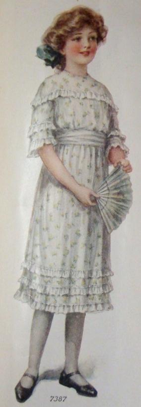 1913 Girl's Dress
