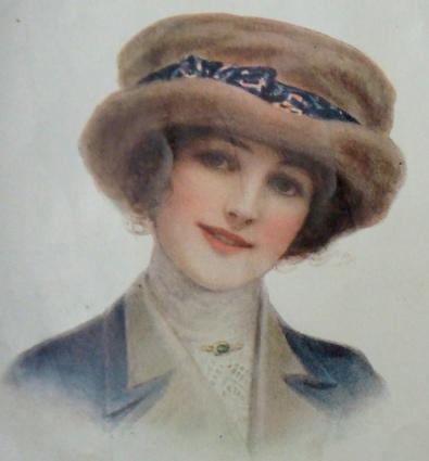 1913 fur hat