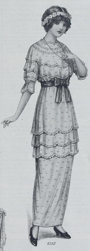 1914 Summer Party Dress