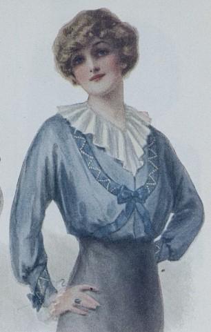1914 waist (blouse)