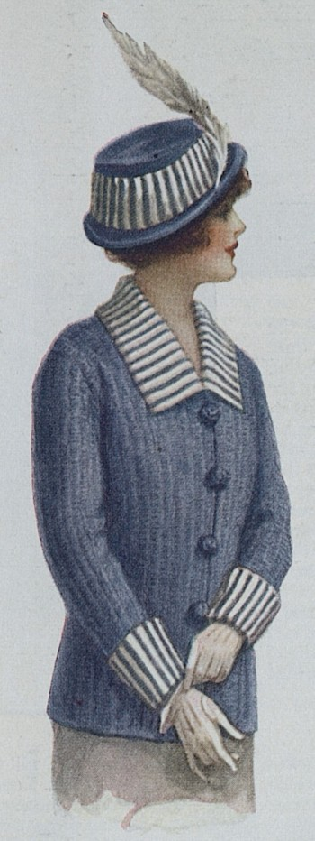 Sweater coat with matching hat